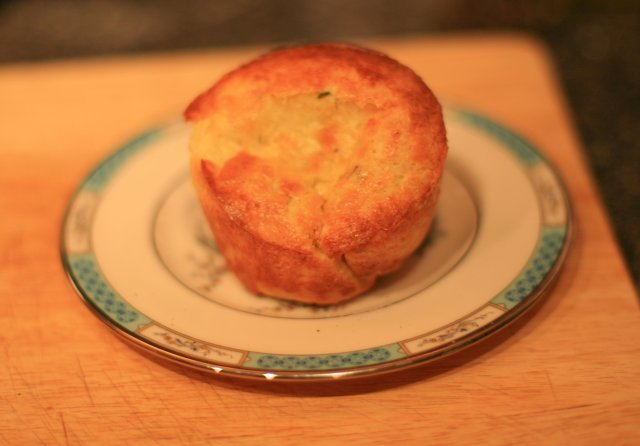 Thyme Popover - success!